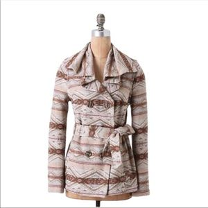 Anthro Daughters of The Liberation Wool Blend Coat